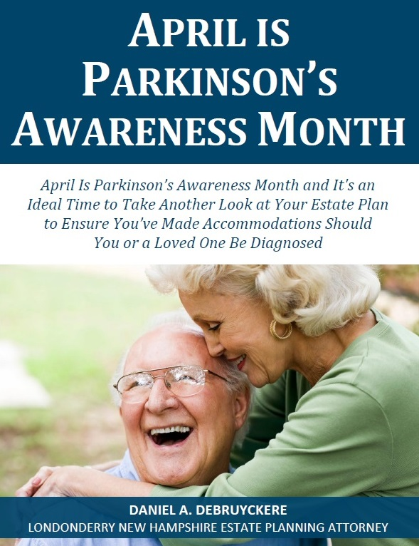 April is Parkinson's Awareness Month - DeBruyckere Law Offices