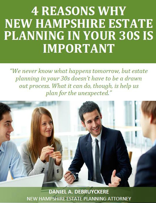 4 Reasons Why New Hampshire Estate Planning In Your 30s Is Important