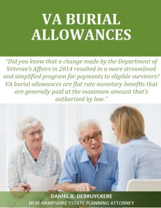 VA Burial Allowances